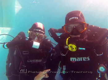 IANTD CCR rebreather try dive Rebreatherpro-Training