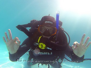 IART rebreather try dive Rebreatherpro-Training