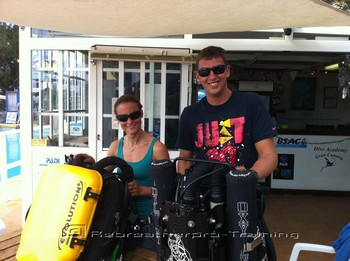 Enjoy your Rebreather CCR try dive day !! Rebreatherpro-Training