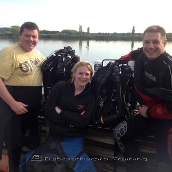 Buckland Lakes. Rebreatherpro-Training