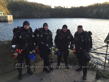 Three new JJ-CCR rebreather divers.. Rebreatherpro-Training