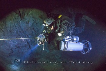 UK Mine and Cave weekend Rebreatherpro-Training