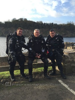 Congratulations to Steve Oxley who completed his TDI JJ-CCR Rebreatherpro-Training