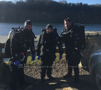 Great fun today running more SF2 try dives. Rebreatherpro-Training