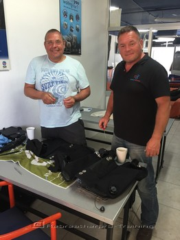 Congratulations to Steve and Steve on completing their JJ-CCR course Rebreatherpro-Training