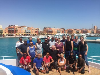 The end of a great week in the Red Sea. Rebreatherpro-Training