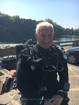 Congratulations to John who completed two try dives today on two different Rebreatherpro-Training