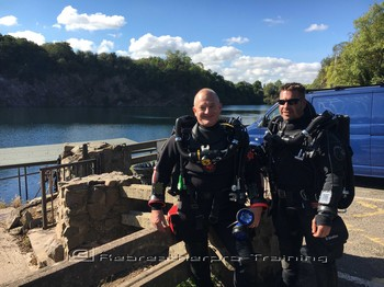 Welcome Malcolm back to rebreather diving Rebreatherpro-Training