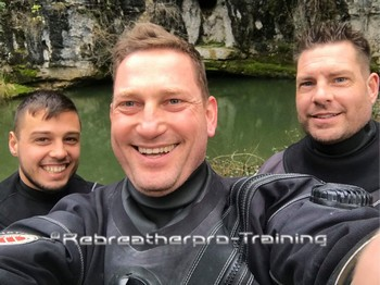 Congratulations to Jack1 on completing his CCR Full Cave Course Rebreatherpro-Training