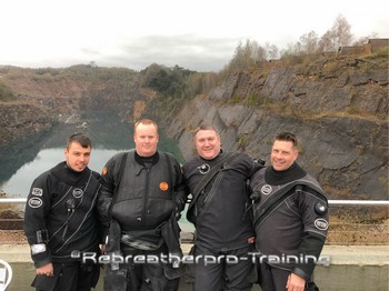TDI Advanced Trimix Course At NDAC Rebreatherpro-Training