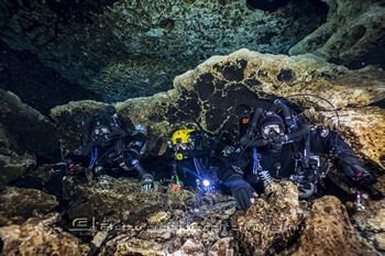 Rebreather Cave Diving Rebreatherpro-Training