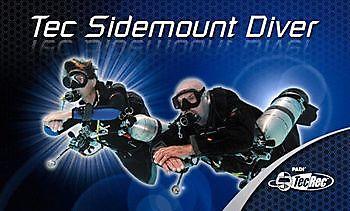 Padi sidemount and Tec sidemount Courses Rebreatherpro-Training
