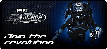Padi Tec40 CCR Rebreatherpro-Training