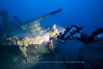 I would like to introduce HMS Nasturtium Rebreatherpro-Training
