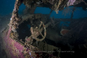 WWII B17 Flying Fortress Airplane Wreck off the Island of Guadalcanal Rebreatherpro-Training