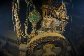 The Karwela wreck in Gozo Rebreatherpro-Training