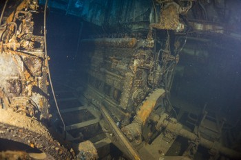 The Karwela wreck in Gozo Rebreatherpro-Training