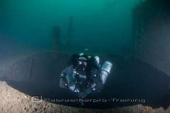 SS Carthaginian (58 metres) Rebreatherpro-Training