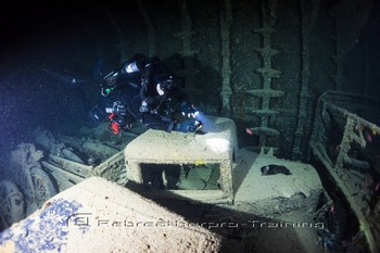 SS Thistlegorm was a British armed Merchant Navy ship Rebreatherpro-Training