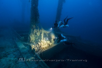 The wreck of the Valforita in Sicily Rebreatherpro-Training Rebreatherpro-Training