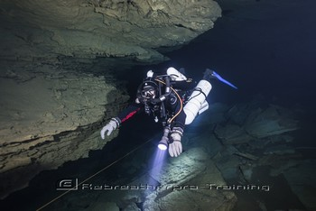 REBREATHER FULL CAVE DIVER COURSE  This course is the third stage of overhead environment training Rebreatherpro-Training