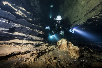 The Dordogne region has been at the forefront of European cave diving Rebreatherpro-Training